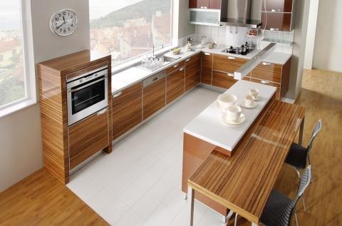 Dýhované kuchyně