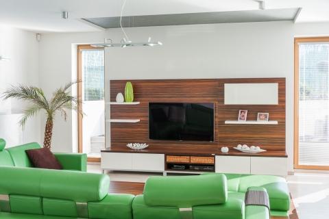 Realizace obývacích pokojů